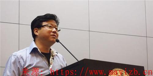 丁磊在上海交大的演讲